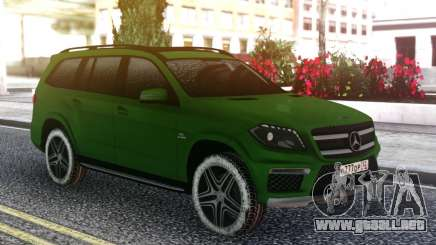 Mercedes-Benz GL 63 AMG Green para GTA San Andreas