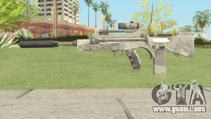 New Assault Rifle para GTA San Andreas