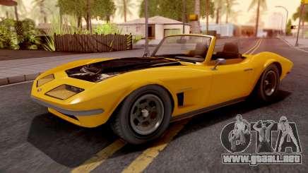 GTA V Invetero Coquette Classic TL para GTA San Andreas