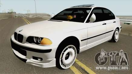 BMW 320d E46 Sedan MQ para GTA San Andreas
