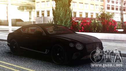 2018 Bentley Continental GT First Edition para GTA San Andreas