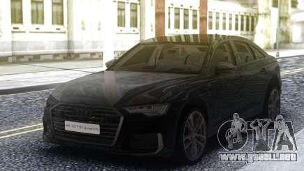 Audi A6 2019 C8 para GTA San Andreas