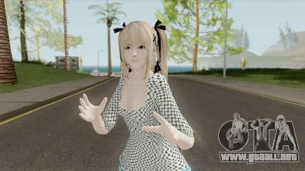 Marie Rose White Dress (DoA 5) para GTA San Andreas