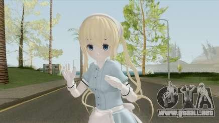 Kaho Hinata para GTA San Andreas