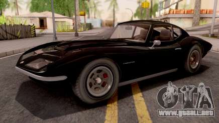 GTA V Invetero Coquette Classic Htop Stock IVF para GTA San Andreas