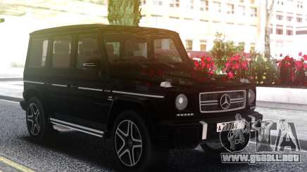 Mercedes-Benz G63 AMG Black para GTA San Andreas