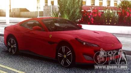Ferrari Portofino 2018 Red para GTA San Andreas
