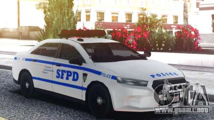 Ford Taurus Police Interceptor Engine para GTA San Andreas