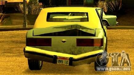 1982-1989 Greenwood Chrysler De La Quinta Avenida para GTA San Andreas