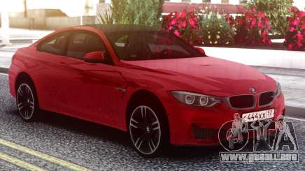 BMW M4 Coupe Red para GTA San Andreas