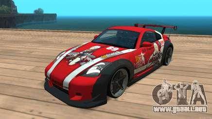 Nissan 350z Girls frontline Dragunov para GTA San Andreas