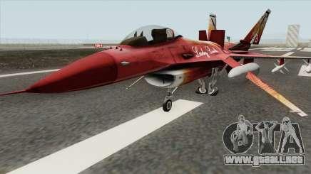 Fighter GTA V (Lady Ludo) para GTA San Andreas