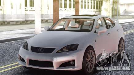 Lexus IS-F 2009 Civil para GTA San Andreas