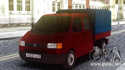 Volkswagen Transporter T4 Camiones Pasha Pala para GTA San Andreas