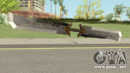 Thanos Double Edged Sword para GTA San Andreas