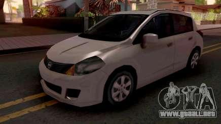 Nissan Tiida SA Style v2 para GTA San Andreas