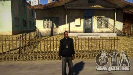 Pacman Negro Con Capucha para GTA San Andreas