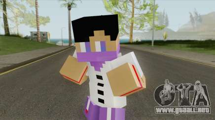 Ballas Minecraft Skin para GTA San Andreas