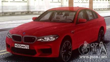 BMW M5 F90 TURBO para GTA San Andreas