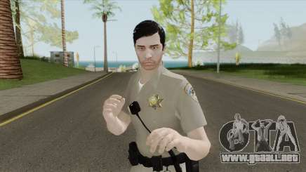 SAHP Officer Skin V1 para GTA San Andreas