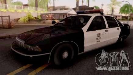 Chevrolet Caprice 1991 Los Santos Police para GTA San Andreas