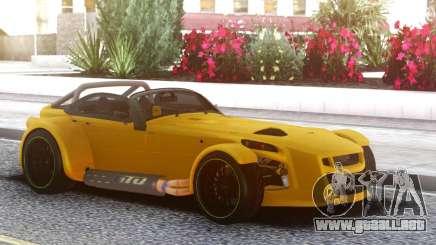Donkervoort D8 GTO Yellow para GTA San Andreas