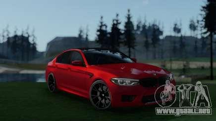 BMW M5 F90 Full Tunable para GTA San Andreas