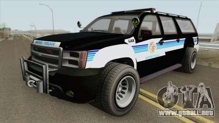 Chevrolet Suburban (LAX Airport Police) para GTA San Andreas