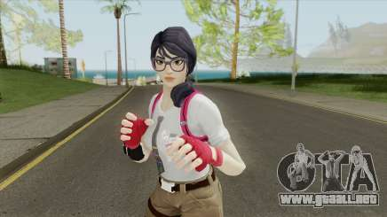 Fortnite Female Nerd (Mia Khalifa) para GTA San Andreas