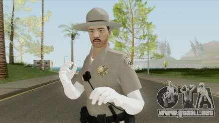SAHP Officer Skin V5 para GTA San Andreas