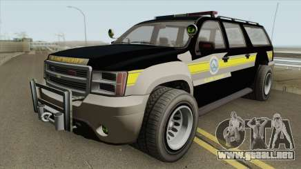 Chevrolet Suburban (Sheriff Blaine County) para GTA San Andreas