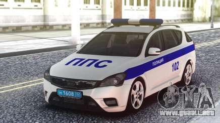 Kia Ceed Police para GTA San Andreas