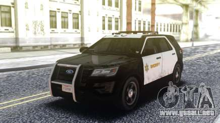Ford Explorer Police Interceptor para GTA San Andreas