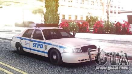 Ford Crown Victoria Classic Police Interceptor para GTA San Andreas