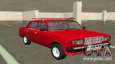 2107 De Combate Clásico Rojo para GTA San Andreas