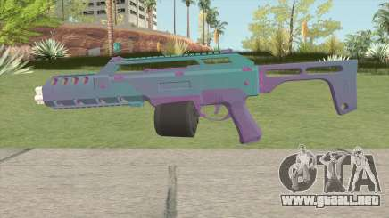 Special Carbine MK2 GTA V (Degraded Nostalgia) para GTA San Andreas