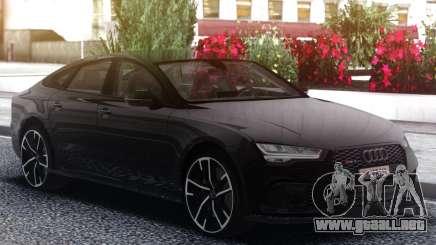 Audi RS7 Black para GTA San Andreas