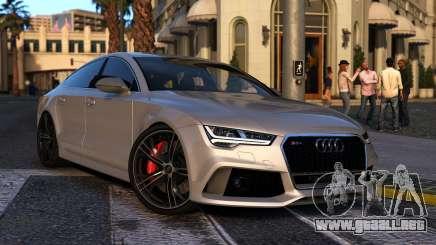 Audi RS7 Sportback 2015 para GTA 5