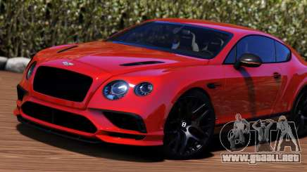 2018 Bentley Continental GT Supersports para GTA 5