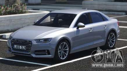 2017 Audi A4 Quattro ABT para GTA 5