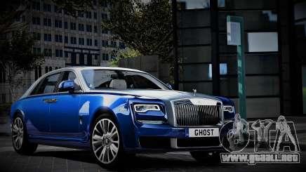 2018 Rolls-Royce Ghost para GTA 5