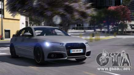 Audi A6 2015 para GTA 5