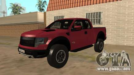 Ford F150 Raptor Stock para GTA San Andreas