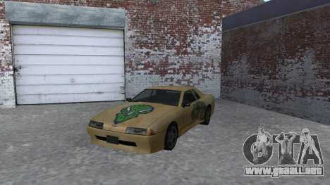 Dino paint jobs for Elegy para GTA San Andreas