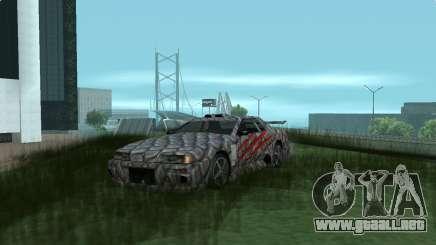 Dino paint jobs for Elegy para GTA San Andreas