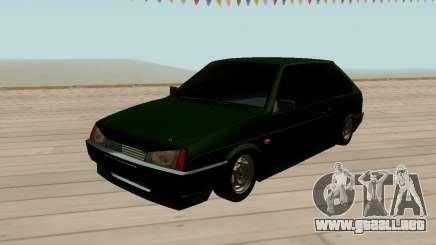 VAZ 2108 tintado Verde para GTA San Andreas