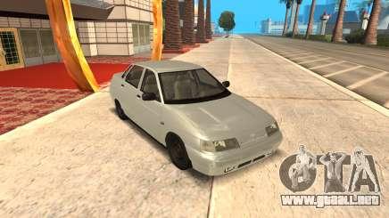 VAZ 2110 Gris para GTA San Andreas