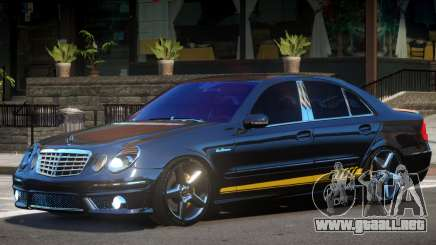 Mercedes Benz E63 Black Edition para GTA 4