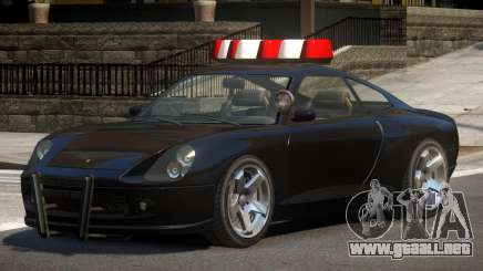 Pfister Comet Police V1.0 para GTA 4
