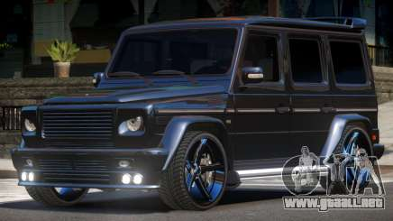 Mercedes Benz G500 Tuned para GTA 4